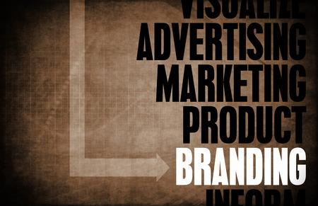 Branding Core Principles as a Concept Abstract photo