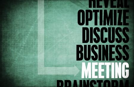 principles: Meeting Core Principles as a Concept Abstract Stock Photo