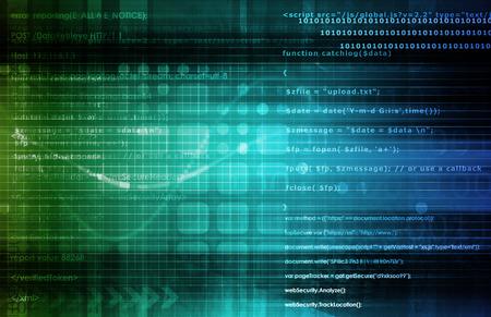 Open Source Technology of Technologieën als Abstract Stockfoto - 37084357