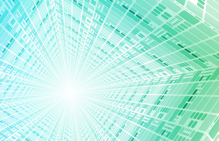 packets: Technology Tunnel with Fast Digital Data Packets