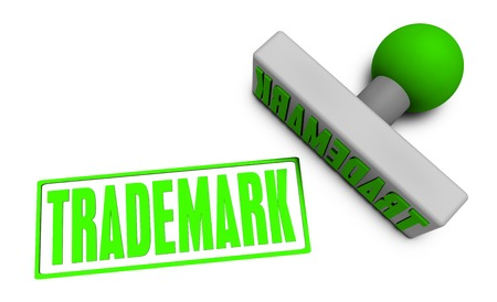 reviewed: Trademark Stamp or Chop on Paper Concept in 3d Stock Photo