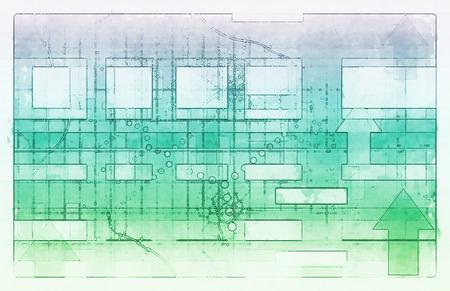 fondo tecnologia: Fondo de la tecnolog�a con l�neas limpias simples como arte