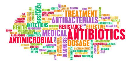 Antibiotics or Antimicrobial Pills as a Concept photo