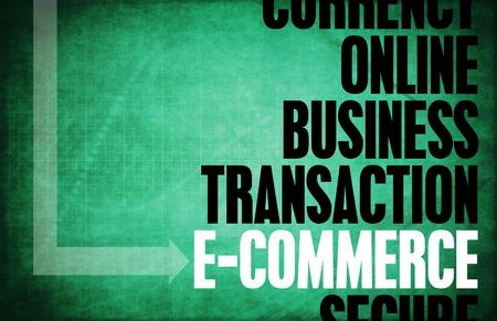 principles: E-Commerce Core Principles as a Concept Abstract Stock Photo