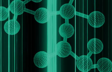 microbio: Part�culas Scan Ciencia con Microbio Atom Up Close