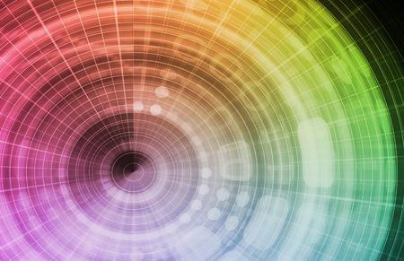 sinergia: Sinergia en un negocio como una imagen de arte conceptual