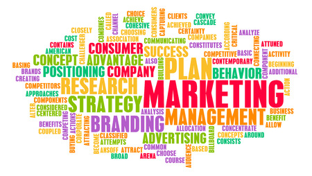 Marketing Strategy as a Business Concept Abstract photo