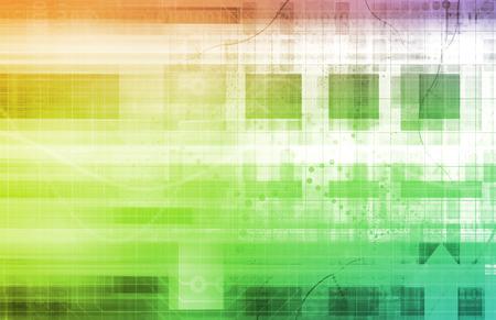 monetize: Web Technologies and Profit Through Online as Art Stock Photo