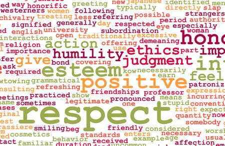 respeto: Yo respeto y la confianza en un personaje