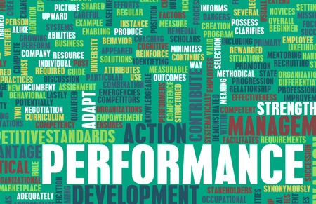Performance Review and Discussion as a Concept photo