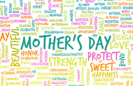 mummy: Mothers Day As a Special Day with Words
