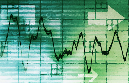 Commodities Trading and Price Analysis News Art photo