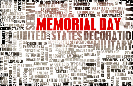 concept day: Memorial Day and Remembering Our Fallen Soldiers