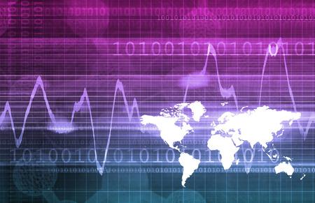 Big Data Analytics gestion comme un Concept Banque d'images