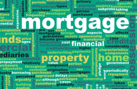 Mortgage Financial Home Loan as a Concept photo