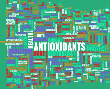 antioxidants: Antioxidants Stock Photo
