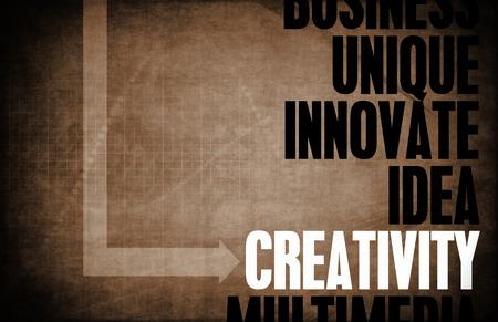 principles: Creativity Core Principles as a Concept Abstract Stock Photo