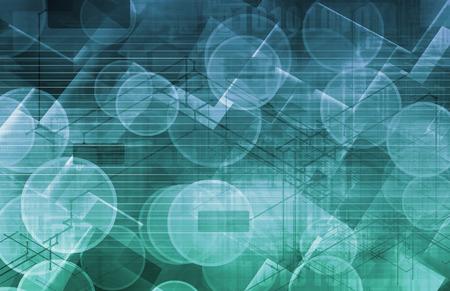 Sciences fond abstrait avec des cellules que l'Art