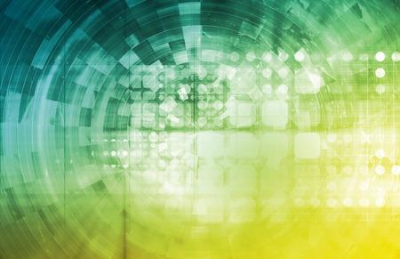 Santé de la technologie et de surveillance médicale Comme Art Banque d'images