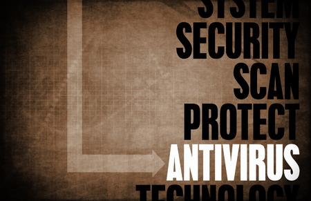 principles: Antivirus Core Principles as a Concept Abstract Stock Photo