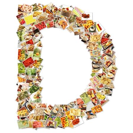 uppercase: Letter D Uppercase Font Shape Alphabet Collage