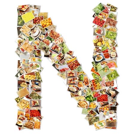 uppercase: Letter N Uppercase Font Shape Alphabet Collage