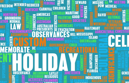 public holiday: Going on Holidays or a Public Holiday as Concept