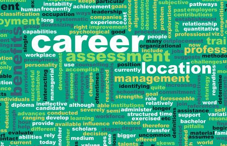 Job Career Search and Business Talent as Concept photo