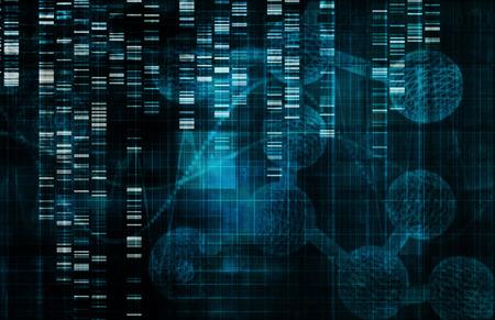 Le génie génétique comme un Art Science Concept Banque d'images