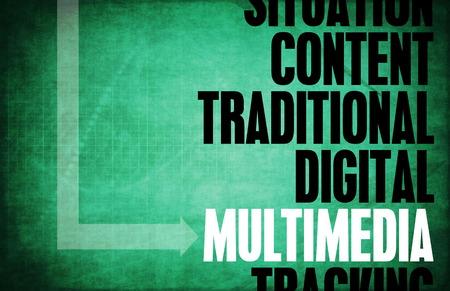 principles: Multimedia Core Principles as a Concept Abstract Stock Photo