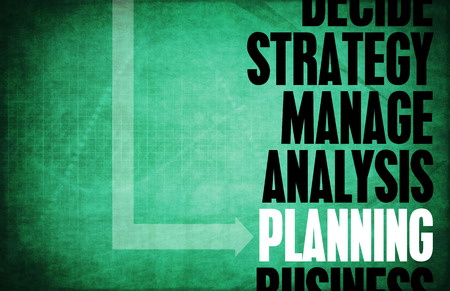 strategic planning: Planning Core Principles as a Concept Abstract Stock Photo
