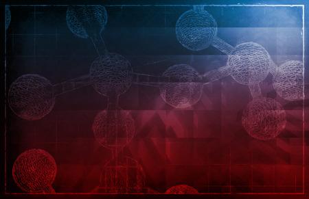 genetica: Genetic Sequenza codice del DNA Protein Art