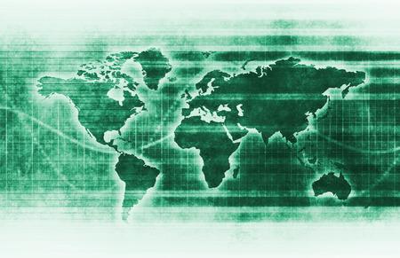 Data Tracking and Surveillance Chart Analysis Art Stock Photo