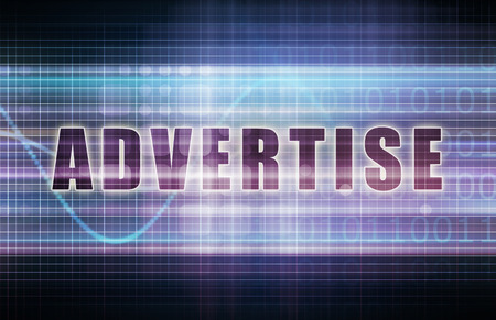 advertise: Advertise on a Tech Business Chart Art