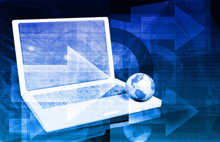 protocols: Online Security Internet Concept as a Background Stock Photo