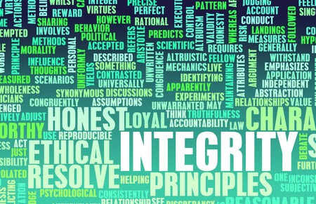 company job: Integrity in a Company and Person Character