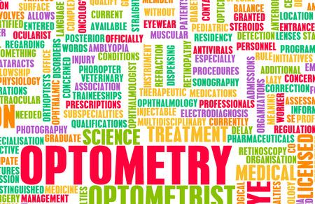 specialty: Optometry or Optometrist Medical Field Specialty As Art