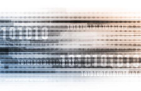 sistemas: Sistema de LAN Red Informática en 3d abstracto Foto de archivo