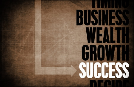 wealth abstract: Success Core Principles as a Concept Abstract Stock Photo