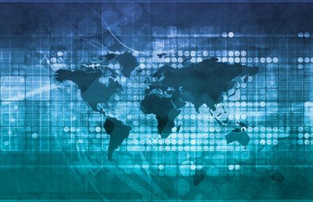 Affaires Opportunités d'investissement à l'échelle mondiale Banque d'images