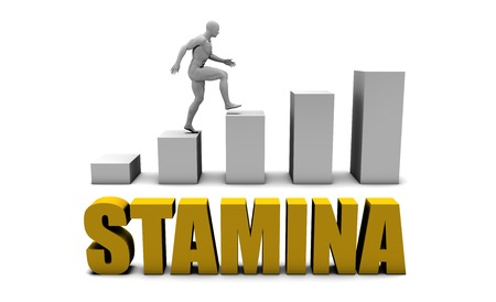 Improve Your Stamina  or Business Process as Concept Stock Photo