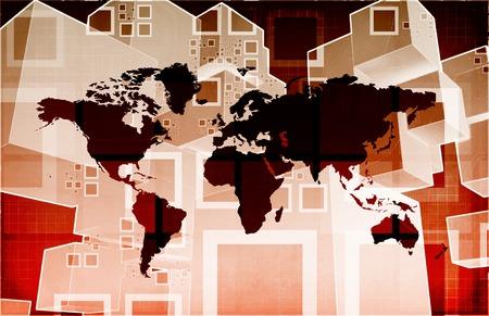 international sales: Global Business Logistics Software and Support Art