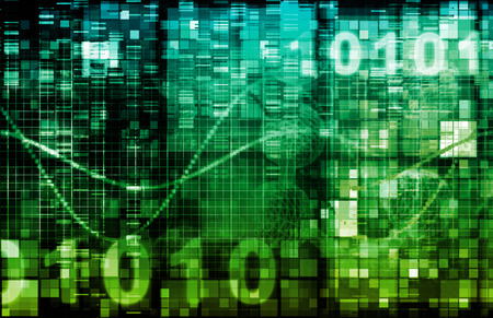 telecommunication: Computer Technology with Laptop and Digital Art