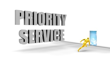 news values: Priority Service as a Fast Track Direct Express Path