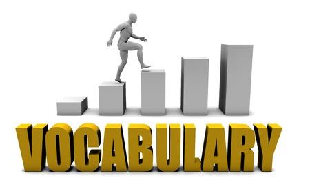 Verbeter uw woordenschat of Business Process als Concept Stockfoto - 42964075