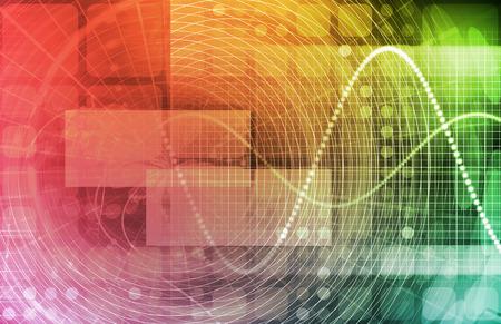 Data Stream von Internet Digital Information Umzug Lizenzfreie Bilder