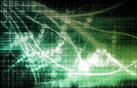microcosm: Techno Organic Alien Technology Abstract Background Art