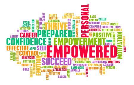 Befugt oder Empowerment von Selbst als Konzept