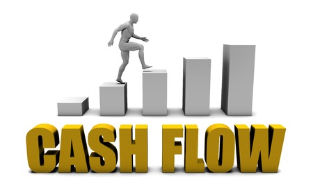 improve: Improve Your Cash flow  or Business Process as Concept