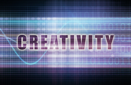 creativity: Creativity on a Tech Business Chart Art